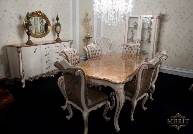 Merİt Clical Home Furniture Turkey Dining Rooms